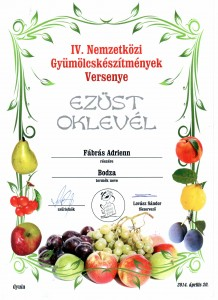 2014, Bodza, Ezüst